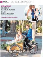 Una de nuestras bodas en Diario SUR