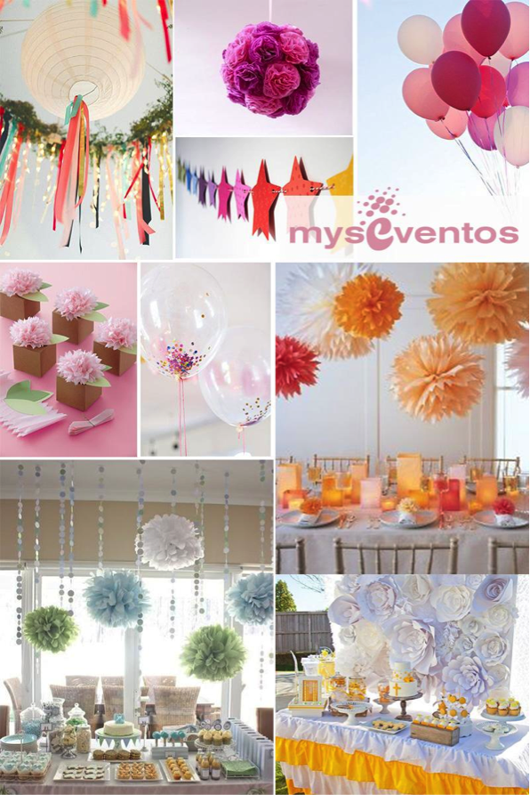 Myseventos los 5 indispensables en decoraci n de fiestas y - Decoracion comunion original ...