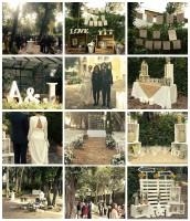 Sencillez y mucho estilo para una boda en Hacienda El Álamo
