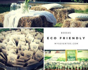 Una boda eco friendly
