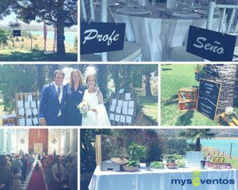 La boda de la Seño y el Profe