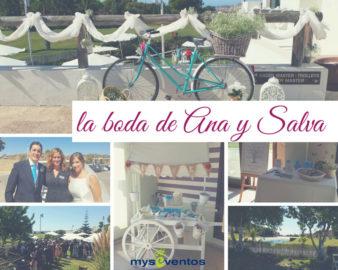 La boda de Ana y Salva