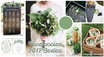 5 tendencias para las bodas del 2017