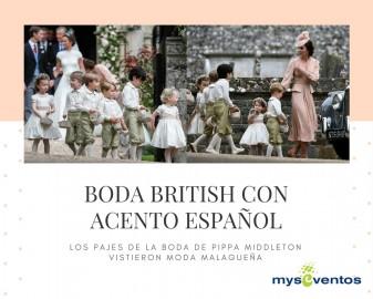 La boda de Pippa Middleton tuvo acento español