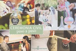 Cómo organizar una ceremonia civil paso a paso