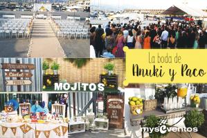 La boda de Anuki y Paco