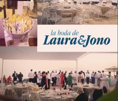 La boda de Laura y Jono