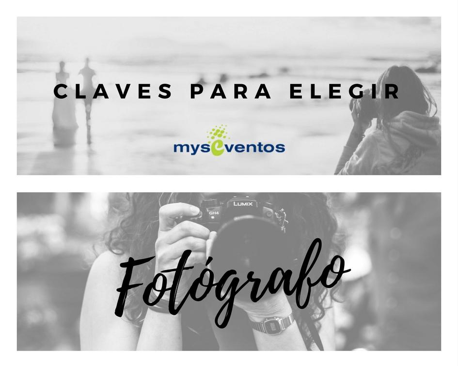 elegir el fotografo
