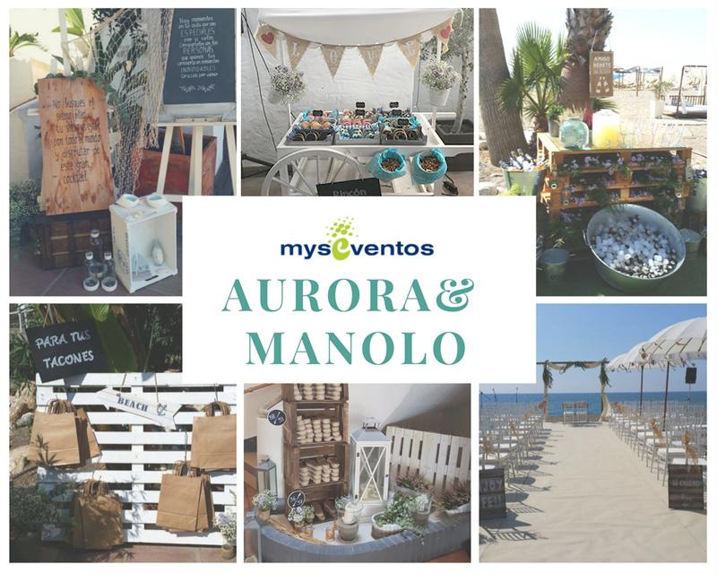 boda Candado Beach, Málaga