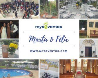 La boda de Marta y Félix