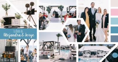 La boda de Alejandra y Jorge en La Cabane en Marbella