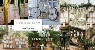 5 tipos de seating plan que te encantarán