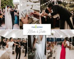 Una boda llena de emociones y felicidad: Marta y Pablo