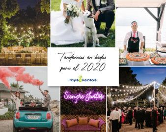 Tendencias en bodas para el 2020