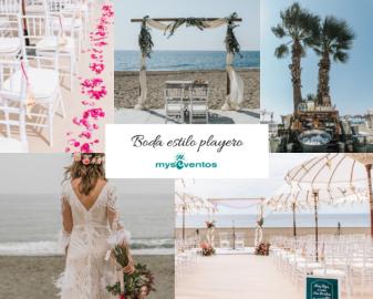 Boda en la playa: montajes y decoración