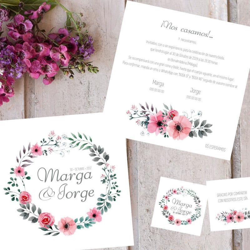 5 ideas originales para invitaciones de boda