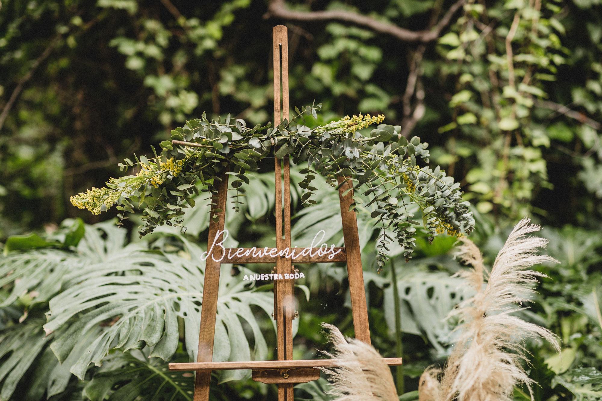 Rincones de bienvenida para decorar tu boda