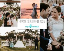 Fotografías de boda ¿de día o de noche? Los profesionales responden