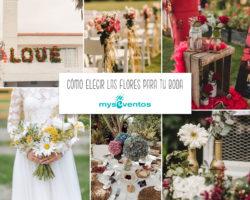 Cómo elegir las flores para tu boda