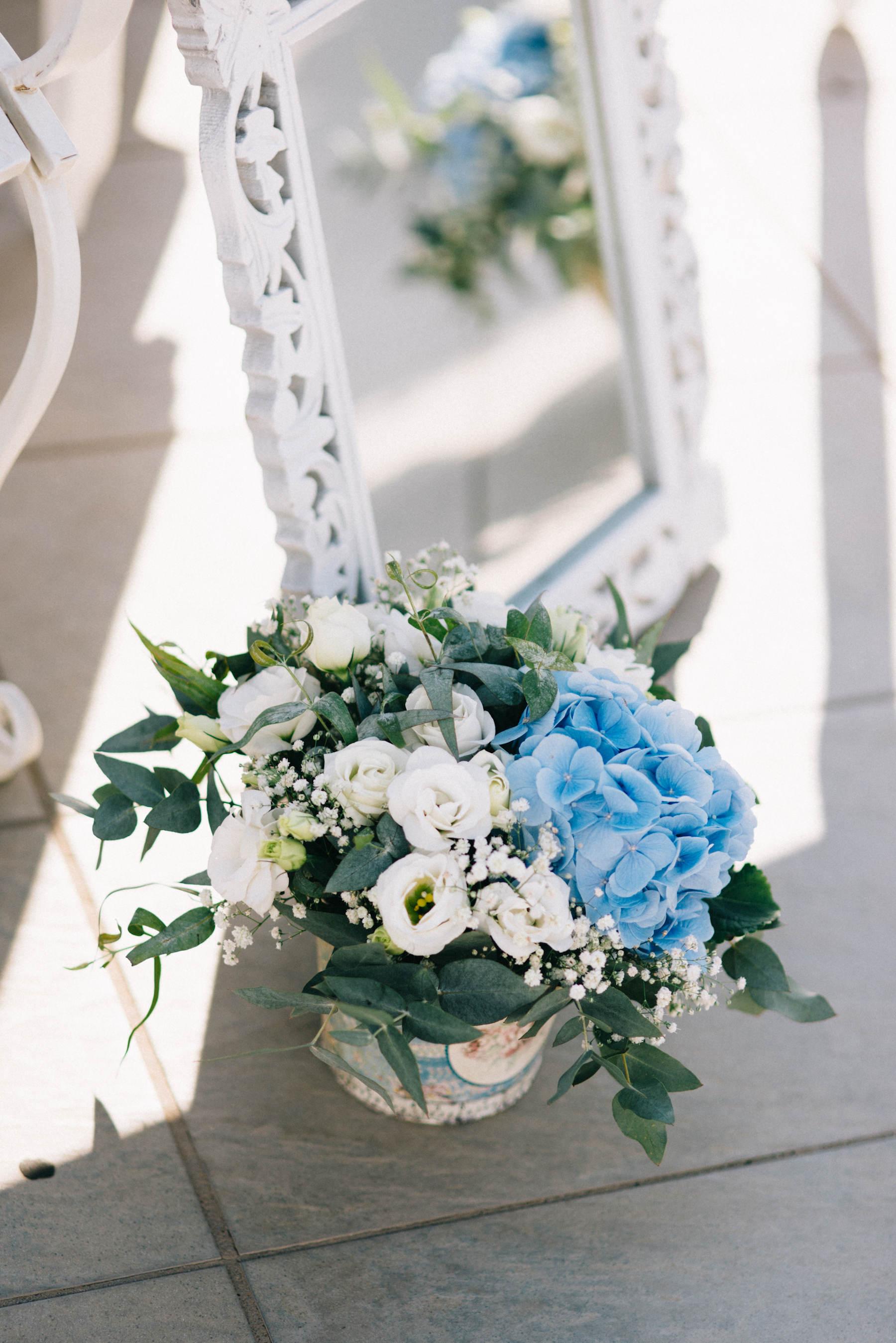 Colores en tendencia para bodas de 2021 - Azul
