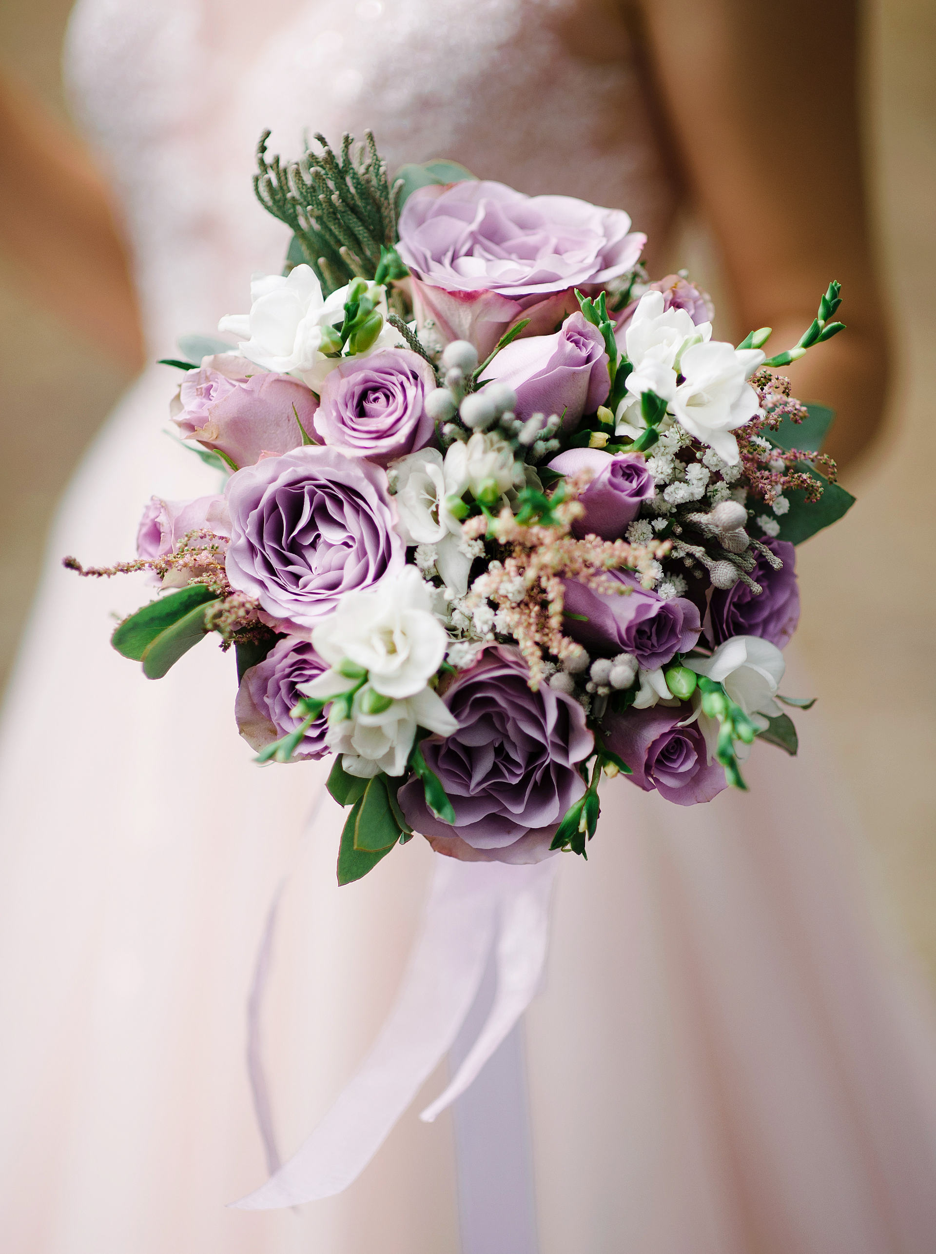 Colores en tendencia para bodas de 2021 - Lavanda