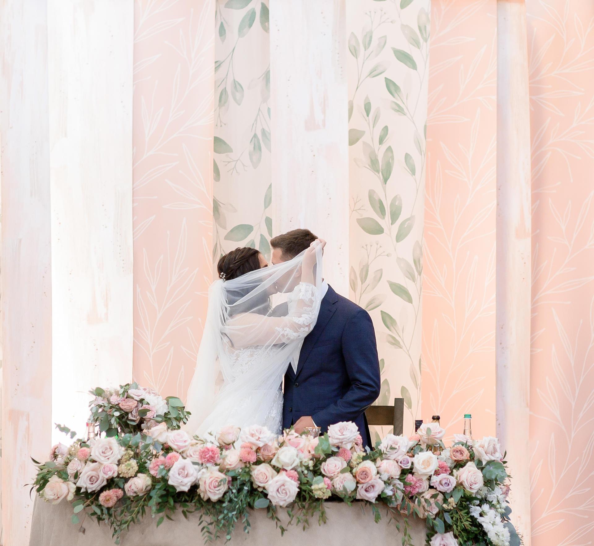 Colores en tendencia para bodas de 2021 - Rosa palo