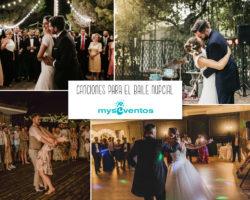 25 canciones perfectas para el baile nupcial
