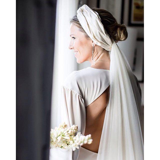Alternativas al velo de novia - Turbante