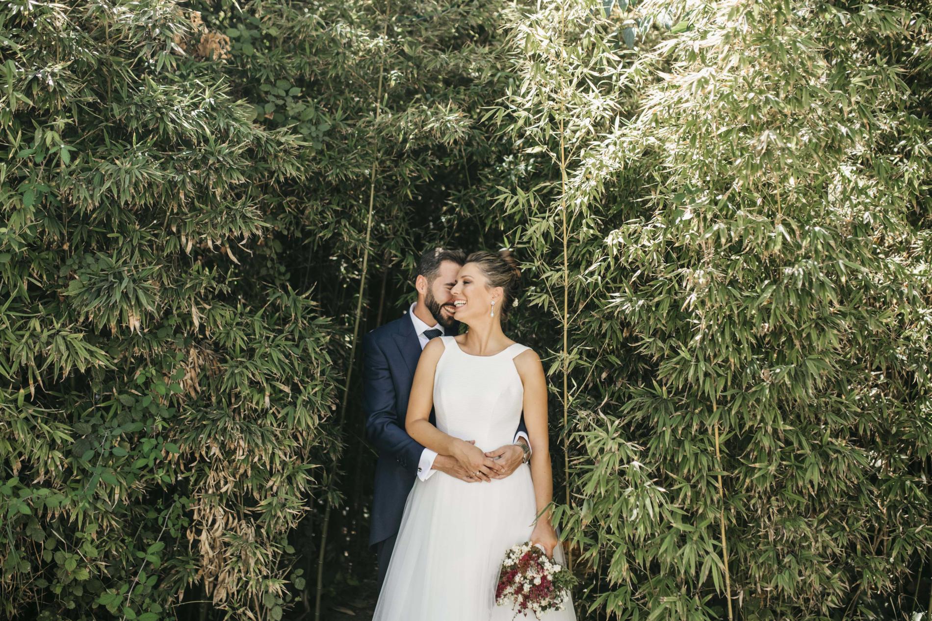 Boda en tiempos de COVID-19: Marina y Ramón - jardín Casilla de Maera