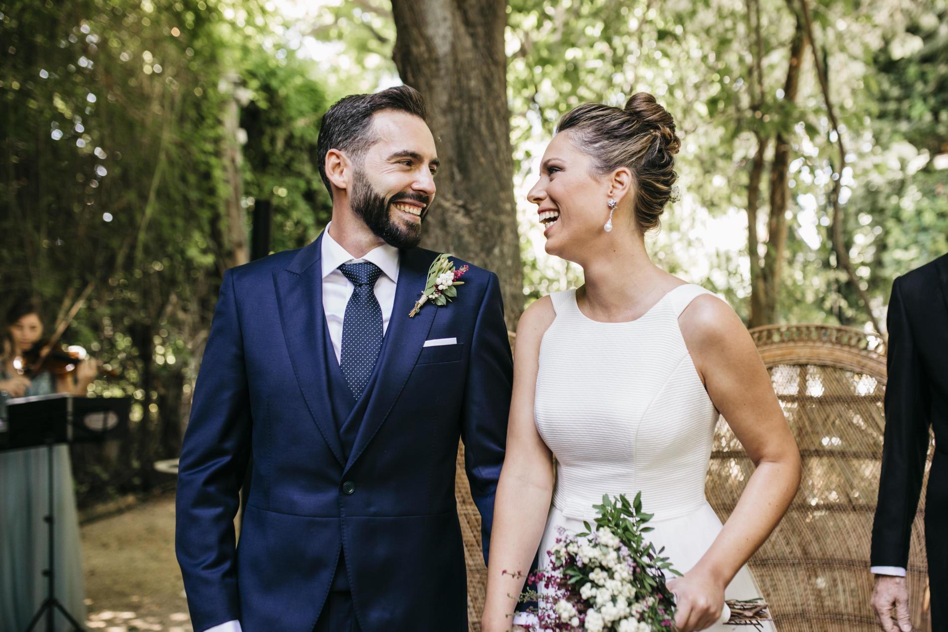 Boda en tiempos de COVID-19: Marina y Ramón - novios